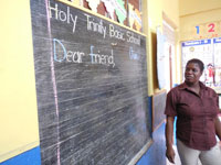 Holy Trinity School Pen Pal Program